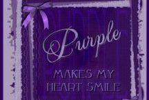 All things purple / by Marla Tafelski-Ostrowski