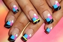 """Nail art / Some really good """"works of art""""..."""