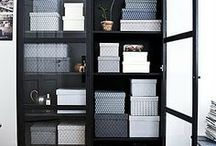 Closets, shelves and storage