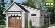 Garage plans, Garage designs with apartment & Shed plans & designs / Drummond House Plans' very popular detached garage plans, some with storage area, and garage plans with apartment complement the variety of house styles, from Traditional, Colonial, European, Victorian, Country and many more. Detached Garage Designs for single, double and triple bays plus are available. Garage Plans with Apartment or lodging, which can double as guest suite for your family & friends, and garage designs with storage are available as well as RV garage house plans.