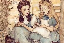 illustrations / by Cherry Dee Felleese