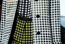 """mode - POIS or not POIS ? / bon ... faut que je m'y mette !! après """"Le righe e i pois"""" de Margherita Antinori, puis """"Stripes. Dots. Circles...."""" de Karin Armour, mon amour des POIS et des """"RIGHE"""" se doit de s'exprimer !! ;-) / by Marianne Gassier"""