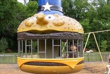 Vintage metal playgrounds / by Jaclyn Reynolds