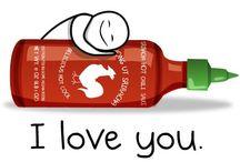 A Sriracha Love Story / Sriracha Addicts Unite  / by T. Raven Meyers