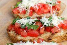 Crostini, Bruschetta, etc. / Yummy stuff on bread