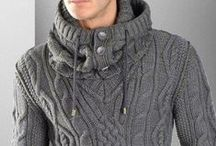 Knit & Crochet Menswear / Inspiration and patterns for knitting and crocheting for men. / by Vickie Howell