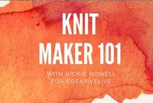 Learn to Knit / Expert, Vickie Howell gives you the knitting foundation to flourish with this YouTube series of totally doable skills.  / by Vickie Howell