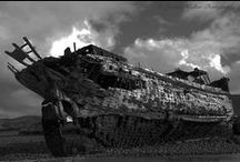Shipwrecks and Boats / Love old shipwrecks.... more so if they are dramatic looking!