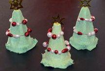 Tannenbäume basteln / Anleitungen um Tannenbäume, bzw. Weihnachtsbäume zu basteln. Alle Anleitungen von www.kikisweb.de