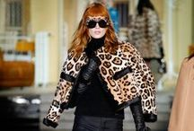 Leopard / The flirty feline pattern takes centre stage this season