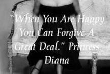 H.R.H Princess Diana / ENGLAND'S ROSE