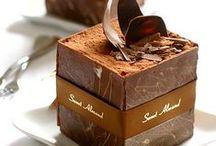 "chocolate temptations / ""and on the eighth day God created chocolate"" / by ILØNA DE BURGH"