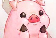 Piggyland illustrazioni II