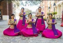 Bollywood poses