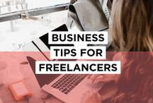 Business Tips for Freelancers / Tips and inspiration for freelancers who want to build their brand and get more clients, including tips on writing, marketing, social media, time management and more. Want to get fully booked out with your ideal client for your business?  Check out all the resources and tools at bettymeansbusiness.com.