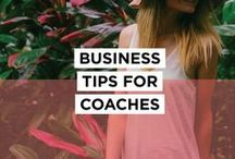 Business Tips for Coaches / Business tips and inspiration for Business Coaches, Life Coaches, Health Coaches, Marketing and Sales Coaches, Career Coaches Brand Coaches etc... Tips on how to get and stay fully booked, raising your rates, client work, tools, email management, social media, branding, sales, time management, motivation and more. Want to join? Comment on a recent pin and I'll add you! Check out bettymeansbusiness.com for more resources.