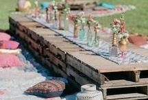 Mesas comunitárias / Giant Table