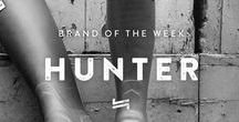 HUNTER - BRAND OF THE WEEK
