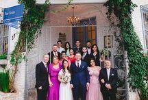 Bridemaids and Gromsmen | Padrinhos e Madrinhas