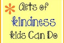 Service Ideas/Random Acts of Kindness/Service Projects / Random acts of kindness.  Service projects.  Intentional acts of kindness.  Teaching children to serve.