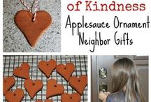Crafty Acts of Kindness / Acts of Kindness are Awesome!  Easy to make crafts for kids that can be used to serve another person.  Teach kids to serve.