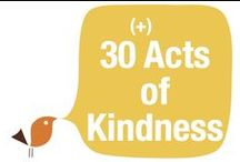 Birthday Acts of Kindness / Adults and children that have taken their birthday and completed acts of kindness.  Random acts of kindness.  Teaching children to serve.