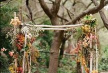 FLORAL EVENT IDEAS / unusual floral themed displays for custom events