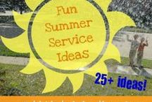 Summer Service Ideas