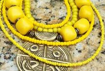 Yellow Jewelry / A collection of my mostly yellow pieces of jewelry, including pieces available on my website, custom designs and sold designs. I can recreate most of my jewelry with just minor variations or at least something similar. So if a piece you want is no longer on my website, just contact me about it.