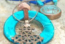 Resort Jewelry / Shop for the perfect jewelry for your resort vacation! Lots of blues, turquoise, golds and coppers. Stunning multi-strand bracelets, statement necklaces, exotic turquoise stones, layered necklaces and chunky bracelets.