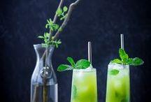 Bebidas. / Todo tipo de bebidas, suco, chá, água com sabores, drinks...