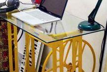 Mesa de trabalho ou Estudo. / Espaço para trabalhar ou estudar com conforto e inspiração.