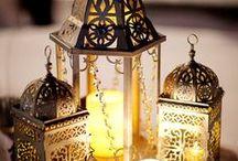 Luminária, lamparinas ou lanternas. / Vidros reutilizados