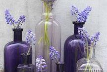 VIDRO / Reutilização de vidros de conservas e garrafas para enfeites maravilhosos.