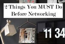 Connected - Networking / Networking tips, advice and event details