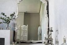ESPELHOS / Charmosos espelhos que fazem a diferença na decoração.