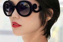 ÓCULOS / Os óculos e a variedade de modelos.Estilosos, coloridos!! Adoro.