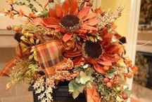 Fall Inspiration / All things warm, cozy and changing among us during the fall season