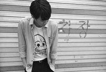 Seungyub (´△`)♪ / 이승엽 of A JAX. Born October 23, 1994 / by You Got No Jams <( ̄︶ ̄)>