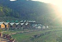 Camping in Rishikesh / Vatika The Luxury Camp offer 1- Deluxe Package, 2- Super Deluxe Package, 3- Luxury Package, 4- Super Luxury Package