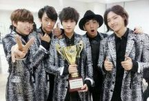 B1A4 ( ´ ▽ ` )ノ / B1A4 consists of 5 members: Baro (B), Jinyoung (A), Sandeul (A), Gongchan (A), and C.NU (A). They debuted in 2011. / by You Got No Jams <( ̄︶ ̄)>