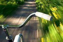 BICICLETA / Pra mim, a bicicleta é o simbolo da liberdade. Quando está enfeitada de flores, se torna mais linda