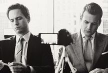 "Suits / ""I could be drinking a juice box and still kick your ass""  - Harvey Specter / by Iris T"