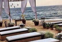 Shoreline  - beach weddings / floral and accessory Inspiration for beach themed weddings