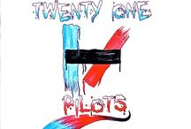 Twenty one pilots / I can't tell you how much I love this band! They have some of the most genius songs known to mankind. These songs take music to a whole new meaning. Tyler voice is incredible and amazing!!! \m/
