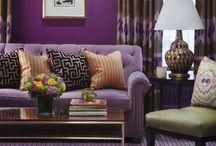 Plum Place Home / Pretty plum colors / by Barb Palmieri