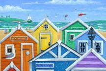Beach House Art Ideas / by Barb Palmieri