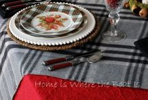 Grey and Red Home / I love grey, red and white together / by Barb Palmieri