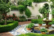 Courtyard Ideas / by Barb Palmieri