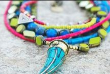 Spring Jewelry / Great jewelry looks for Spring! Bright, happy colors like yellow, green, pink and turquoise.
